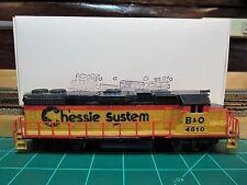"Life-Like #8075 HO EMD GP-38 HI-NOSE Powered Locomotive ""B&O CHESSIE"" RTR"