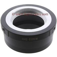 M42 screw Mount Canon EOS M m2 objetivamente lens adaptador sistema cámara Camera eosm