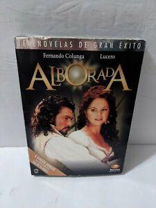 Telenovelas De Gran Exito Alborada (DVD, 2006, 4-Disc) Lucero Fernando Colunga