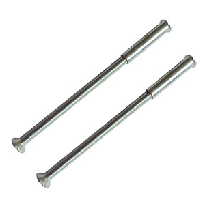 10 x M3 Screws Connecting Bolts and Sleeve for Fixing Door Handles, Knobs and