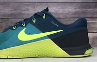 Nike Metcon 2 Flywire Training Athletic Running Shoes 819899-373 Mens Size 10