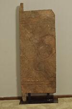 African Door Nupe Wood Nigeria House Door Geometric Relief Carved Nupe Door