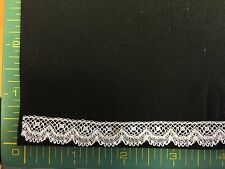 CAPITAL IMPORTS #39/850 WHITE EDGING 1/2 INCH WIDE- 6 7/8 YARDS