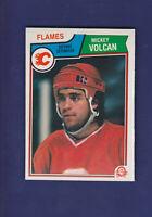 Mickey Volcan RC 1983-84 O-PEE-CHEE OPC Hockey #94 (NM+) Calgary Flames
