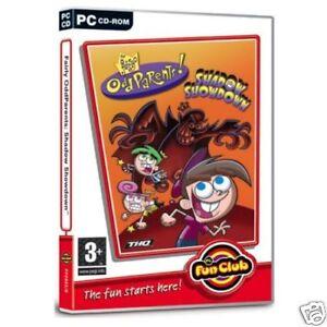 FAIRLY ODD PARENTS SHADOW SHOWDOWN PC CD-ROM FUN CLUB GAME brand new