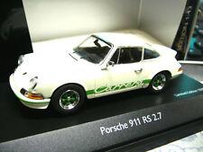 PORSCHE 911 Carrera 2.7 RS Entenbürzel weiss white green Schuco limited 1:43