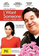 I Want Someone To Eat Cheese With (DVD, 2010) Dan Castellaneta, Bonnie Hunt