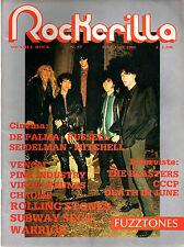 ROCKERILLA 57/1985 FUZZTONES VENOM PINK INDUSTRY VIRGIN PRUNES DEATH IN JUNE