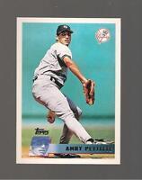 ANDY PETTITTE TOPPS NEW YORK YANKEES 2010 WORLD CHAMPIONSHIP SET  CARD # YC23