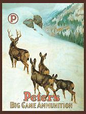 "Philip Goodwin, wildlife, Ammunition Advertisement, HUNTING, 14""x11"" Art Print"