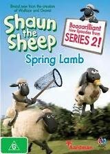 PRE OWNED SHAUN THE SHEEP SPRING LAMB DVD COMEDY ANIMATION FAMILY CHILDREN