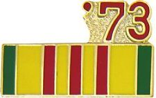 US USA '73 Vietnam Veteran Military Hat Lapel Pin