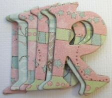 ~*HAPPY BIRTHDAY GiRL~* Chipboard Alphabet Letters & Cupcake Die Cuts