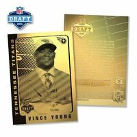 2006 VINCE YOUNG NFL Tennessess Titans ROOKIE DRAFT PICK 23K 1000 ONLY