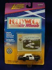 Johnny Lightning Hollywood on Wheels Blues Brother DieCast Car w/BONUS Showcard!