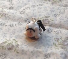 Cute Cow dust plug Earphone Cap Stopper Handmade Phone Charm