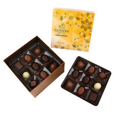 Godiva Assorted Belgian Chocolate Selection 330g 3 Trays 27pc Short Date 24/4/17