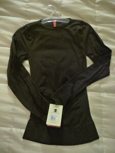 NWT SPANX ON Top & In Control Classic L/S Crew Neck Top 977 Ret.$98 Hard to Find