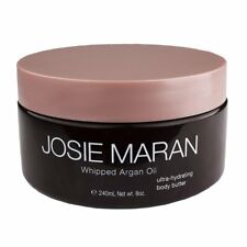 JOSIE MARAN VANILLA APRICOT WHIPPED ARGAN BODY BUTTER  8 OZ
