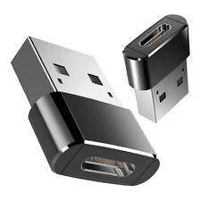 USB C A Adaptador Macho USB,Mini Alta Velocidad USB C Hembra (Tipo C) A USB  6P8