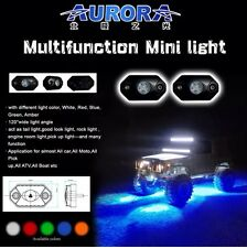 AURORA ROCK LIGHT (BLUE) 495 LUMENS 9W EACH CREE LEDS (SET OF 4)