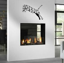 WD Wandtattoo Tiger Asien Afrika Wandaufkleber Wandsticker Wohnzimmer Flur XL