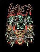 SLAYER cd lgo Wehrmacht Eagle PREY WITH BACKGROUND Official SHIRT XL New OOP