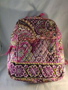 Vera Bradley Pink Paisley Beautiful  Backpack Large