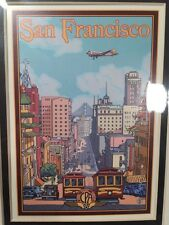San Fransisco, California - Art Print by Lantern Press, 8 X 10 Matted NEW!