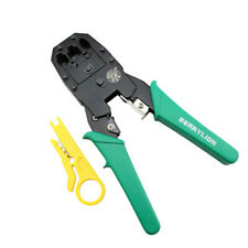 BERRYLION 3-in-1 Network Crimping Pliers RJ45 RJ11 RJ12 Wire Cavo Stripper Mult