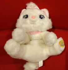 Disney Store Exclusive Aristocats Marie Cat White Plush Stuffed Animal Soft Toy