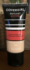 Covergirl Outlast Active 24 HR Foundation + Sunscreen ~ 820 Creamy Natural