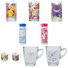 Pokemon Center Glass Cup Glas Tassen Flaschen Bottle Mug zum Aussuchen/to choose