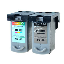 1PK PG-40 1PK CL 41 Ink Cartridge for Canon PIXMA iP1600 iP1700 iP1800 iP2600