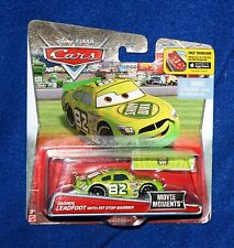 Disney Pixar Cars VHTF Movie Moments with Darren Leadfoot and Pit Stop Barrier