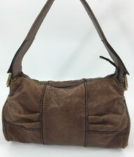 Fossil Fifty Four Handbag Chocolate Brown Satchel