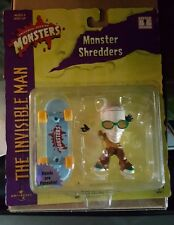 1999 UNIVERSAL STUDIOS MONSTERS MONSTER SHREDDERS THE INVISIBLE MAN NEW UNOPENED
