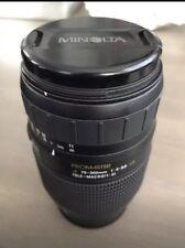 Minolta ProMaster 70-300mm F/4-5.6 LD AF Lens