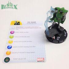 Heroclix Galactic Guardians set Dr. Doom #205 Gravity Feed figure w/card!