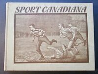 """""""SPORT CANADIANA"""" 1980 First Edition Rare Hardcover ~ Canadian Sports Statistics"""