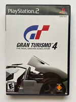Gran Turismo 4 (Sony PlayStation 2, 2005) PS2 Complete w/Manual FREE SHIPPING!!!