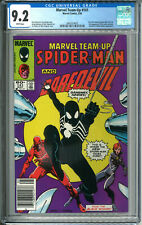 Marvel Team-Up Spider-Man 141 CGC 9.2 NM- WP 5/84 1984 1 Black Costume Newsstand