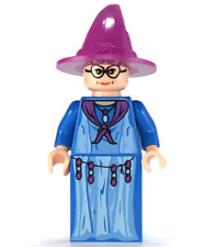 Lego Professor Sybill Trelawney 4757 Light Purple Hat Harry Potter Minifigure