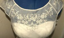 BRAND NEW WITH TAGS MONSOON LOVEY IVORY SHORT WEDDING DRESS SIZE12