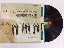 GEORGE FEYER Echoes of Romance vinyl LP Decca DL 74902 NM 36 Romantic Favorites