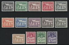 Turks & Caicos 1938 set of 14 - lightly mounted mint £130