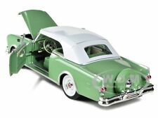 1953 PACKARD CARIBBEAN SOFT TOP GREEN 1/24 DIECAST MODEL CAR BY WELLY 24016HW