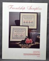Barkraft Heirloom Designs FRIENDSHIP SAMPLERS Cross Stitch Pattern 1985 Leaflet