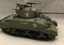 1/35 Pro Built M4-A1 Sherman Tank