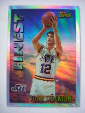 Topps Finest Not Autographed NBA Basketball Trading Cards